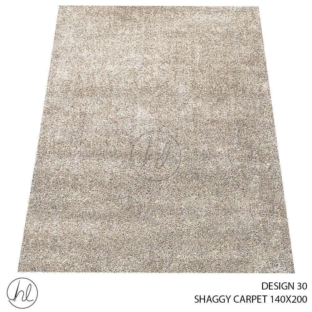 POLY SHAGGY CARPET (140X200) (DESIGN 30)