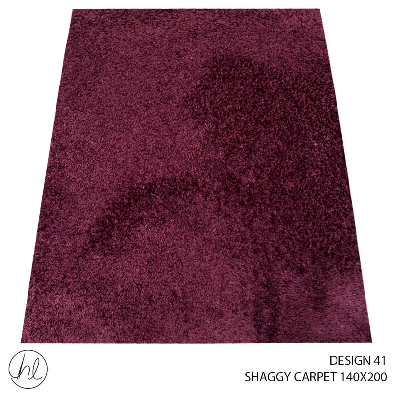 SHAGGY CARPET (140X200) (DESIGN 41)