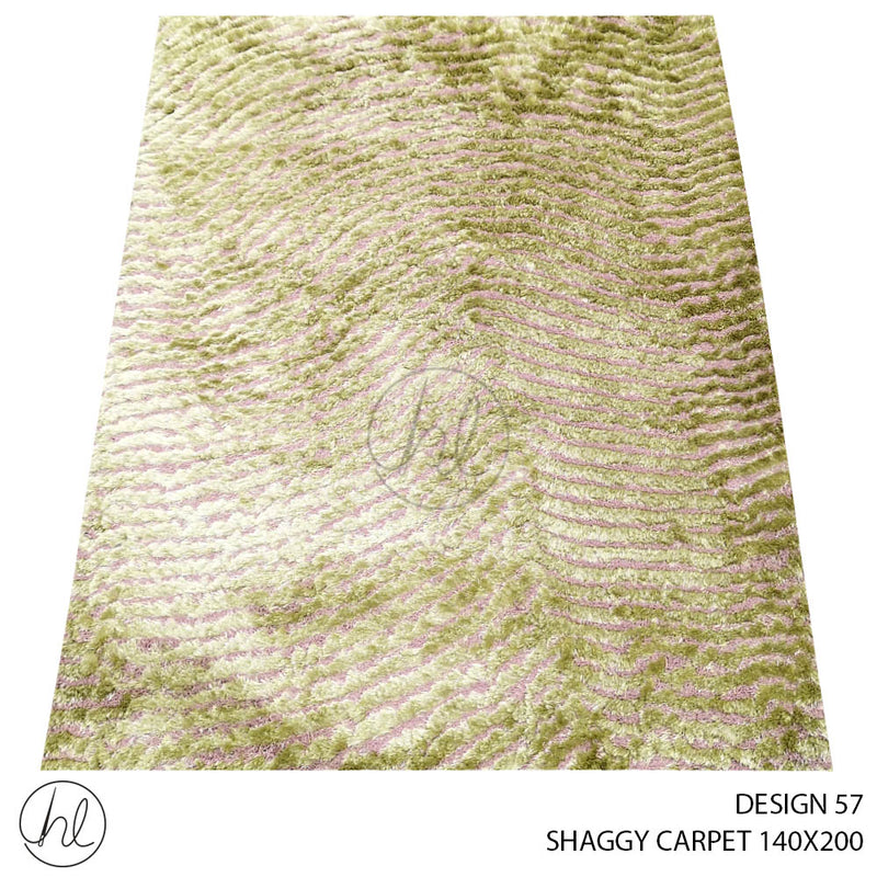SHAGGY CARPET (140X200) (DESIGN 57)