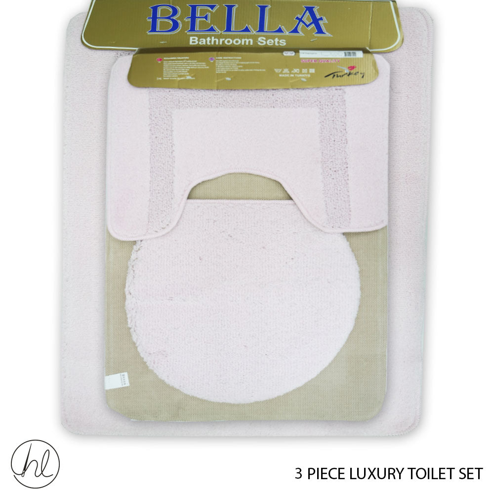 3 PIECE LUXURY TOILET SET (50X80) (DESIGN 11)