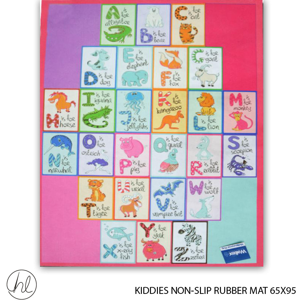 KIDDIES NON-SLIP RUBBER MAT (65X95) (DESIGN 24)