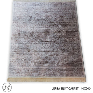 CARPET JERBA SILKY (140X200) (DESIGN 10)