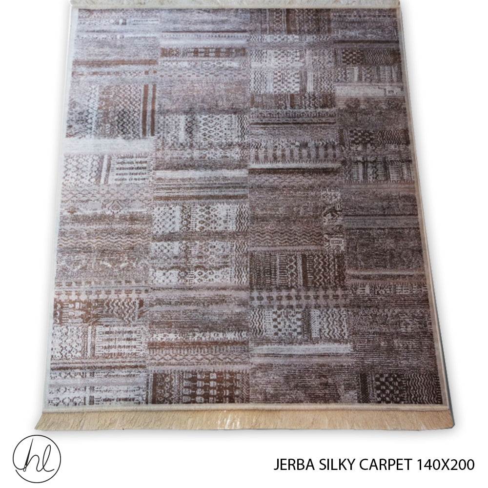 CARPET JERBA SILKY (140X200) (DESIGN 12)