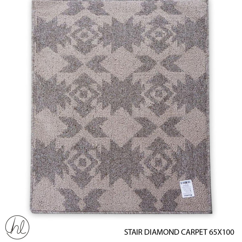 CARPET STAIR DIAMONDS 65X100 DESIGN 47