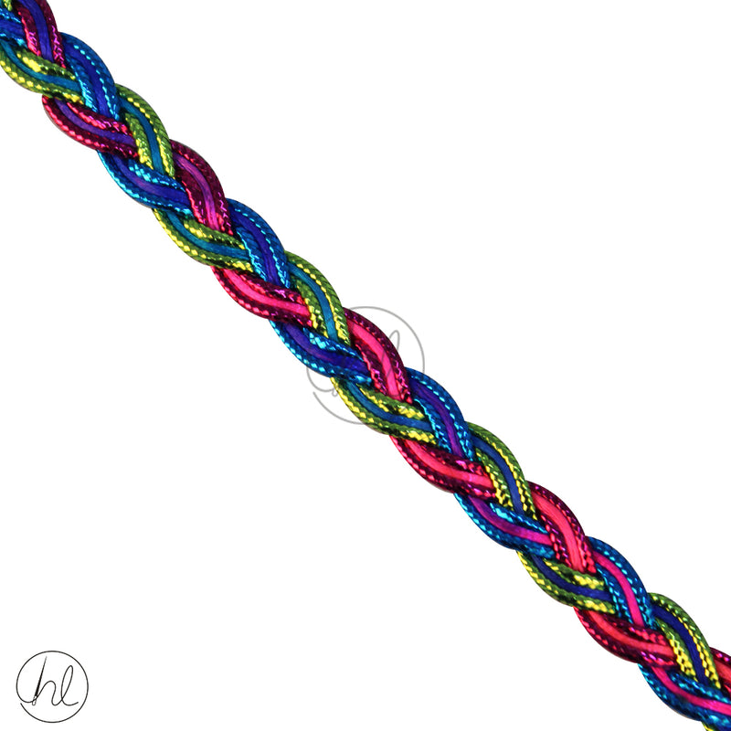 ASSORTED BRAID CORD BR377 (P/METER)