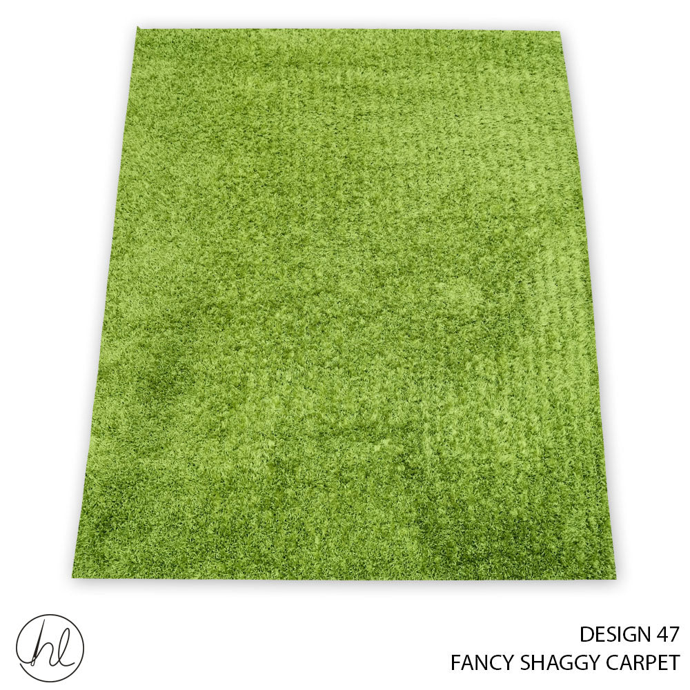 FANCY SHAGGY CARPET (160X230) (DESIGN 47)