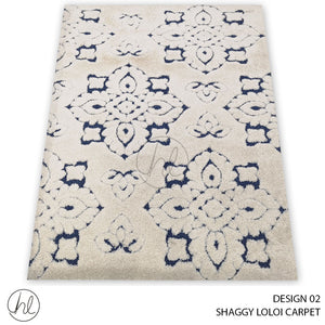 SHAGGY LOLOI  CARPET (160X230) (DESIGN 02)