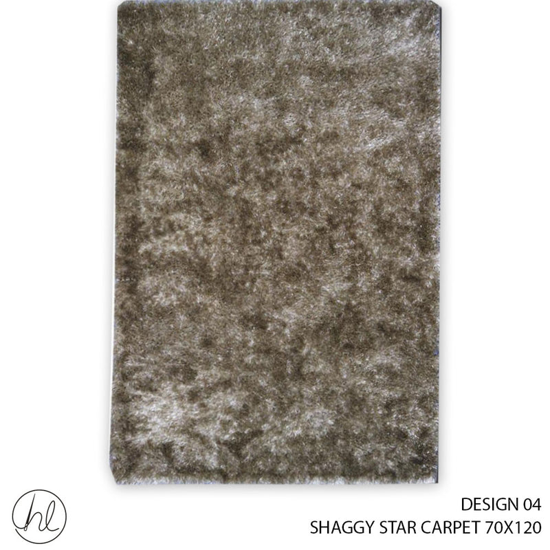 STAR SHAGGY CARPET (70X120) (DESIGN 04)