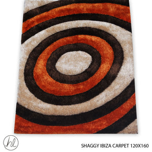 CARPET SHAGGY IBIZA (120X160) (DESIGN 06)