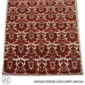ANTIQUE VINTAGE LOOK CARPET (200x300) (DESIGN 01)