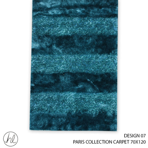 PARIS COLLECTION CARPET (70X120) (DESIGN 07)