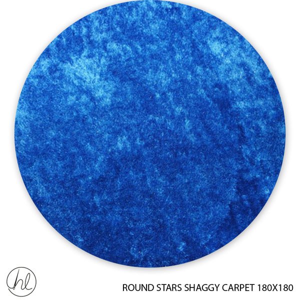 ROUND CARPET  STARS SHAGGY 180X180 DESIGN 3
