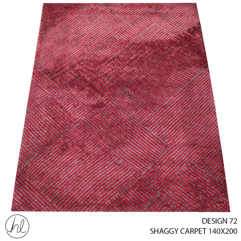 SHAGGY CARPET (140X200) (DESIGN 72)