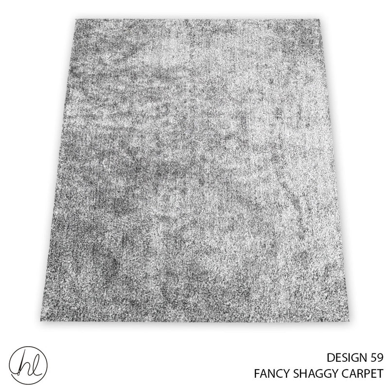 FANCY SHAGGY CARPET (160X230) (DESIGN 59)
