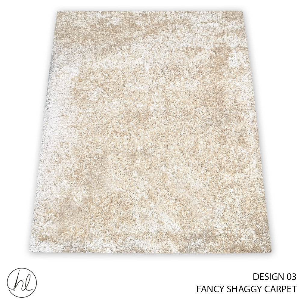 CARPET FANCY SHAGGY (160X230) (DESIGN 03)