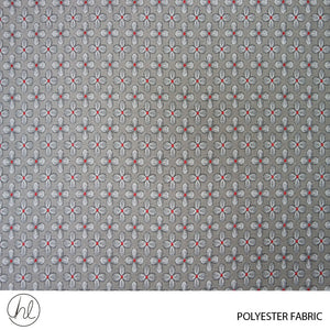 POLYESTER FABRIC (DESIGN 73) (280CM) (PER M) (RED)