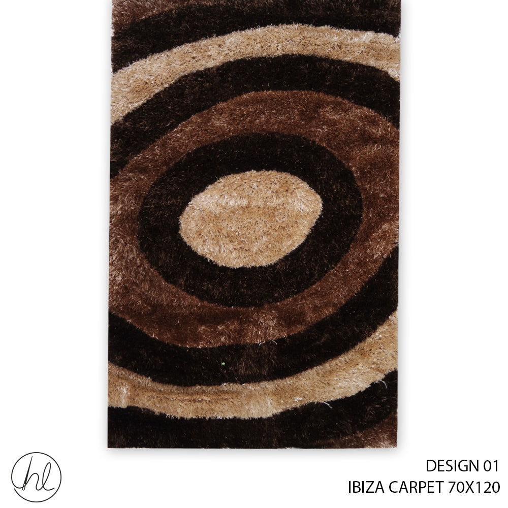 IBIZA CARPET (70X120) (DESIGN 01)
