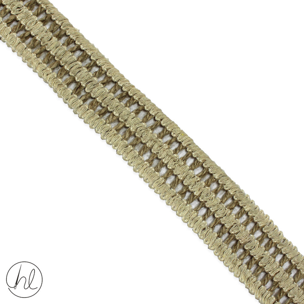 HESSIAN BRAIDS (P/METRE)