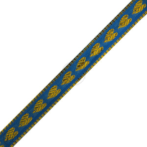 ASSORTED BRAIDS (P/METRE) BLUE