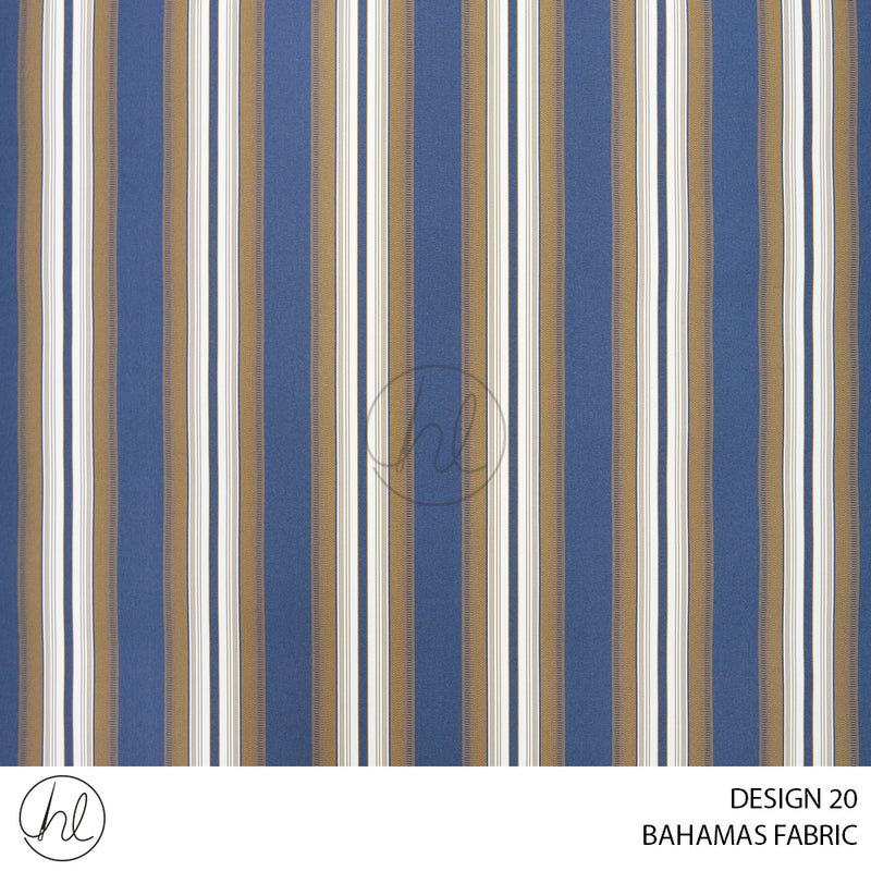 BAHAMAS CANVAS (ONLY SUITABLE FOR OUTDOOR) (DESIGN 20) (150CM) (PER M)