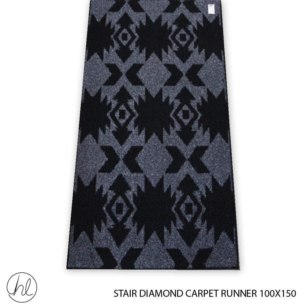 CARPET STAIR DIAMONDS (100X150) (DESIGN 6)