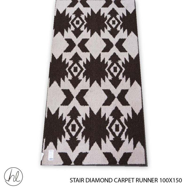 CARPET STAIR DIAMONDS (100X150) (DESIGN 7)