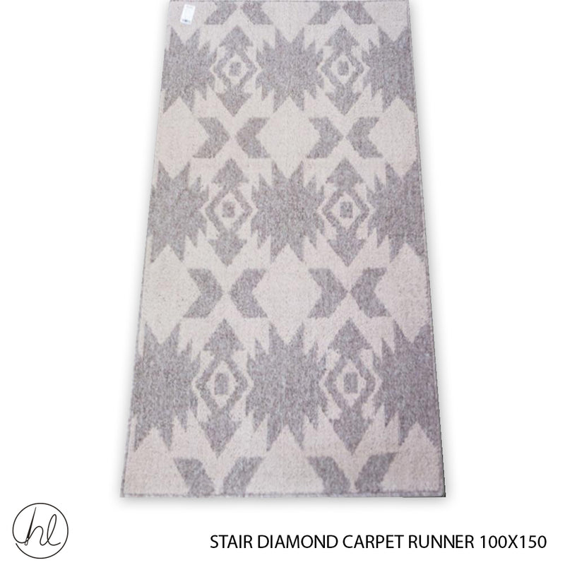 CARPET STAIR DIAMONDS (100X150) (DESIGN 8)