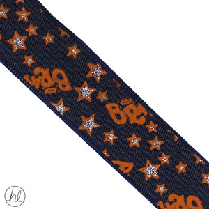 FANCY PRINTED RIBBON (38MM) (P/METRE)