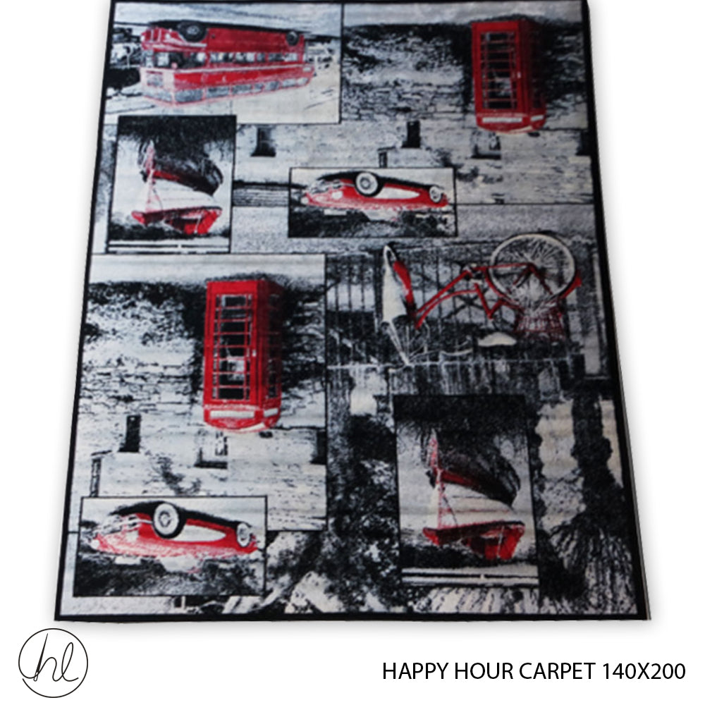 CARPET HAPPY HOUR (140X200) (DESIGN 03)