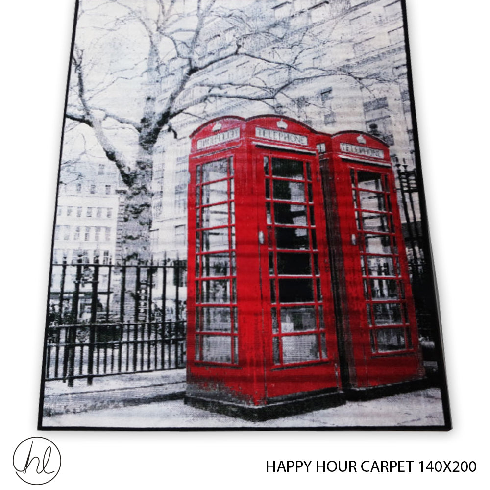CARPET HAPPY HOUR (140X200) (DESIGN 05)