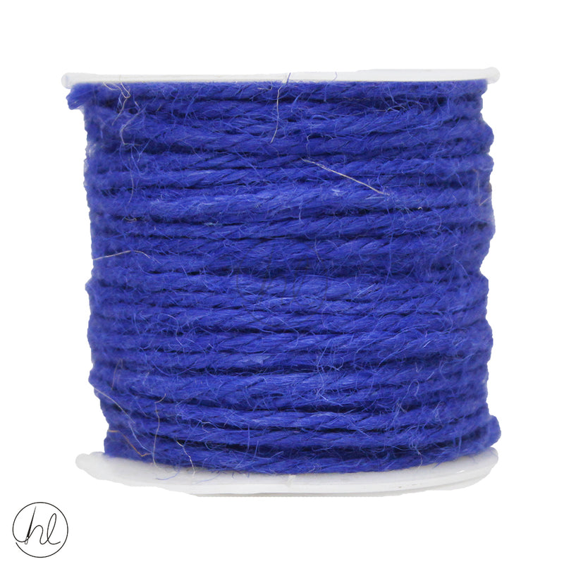 HESSIAN CORD 457 BLUE