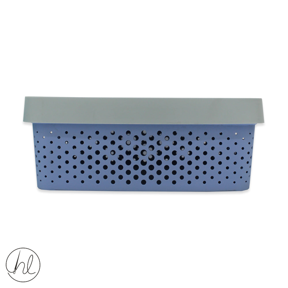STORAGE BASKET WITH LID (ABY-0825) MEDIUM