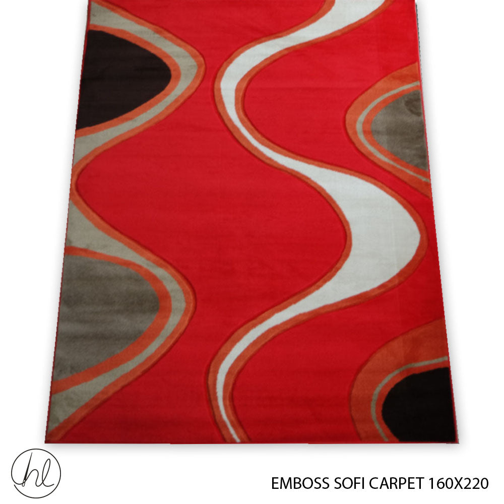 CARPET EMBOSS SOFI (160X220) (DESIGN 04)