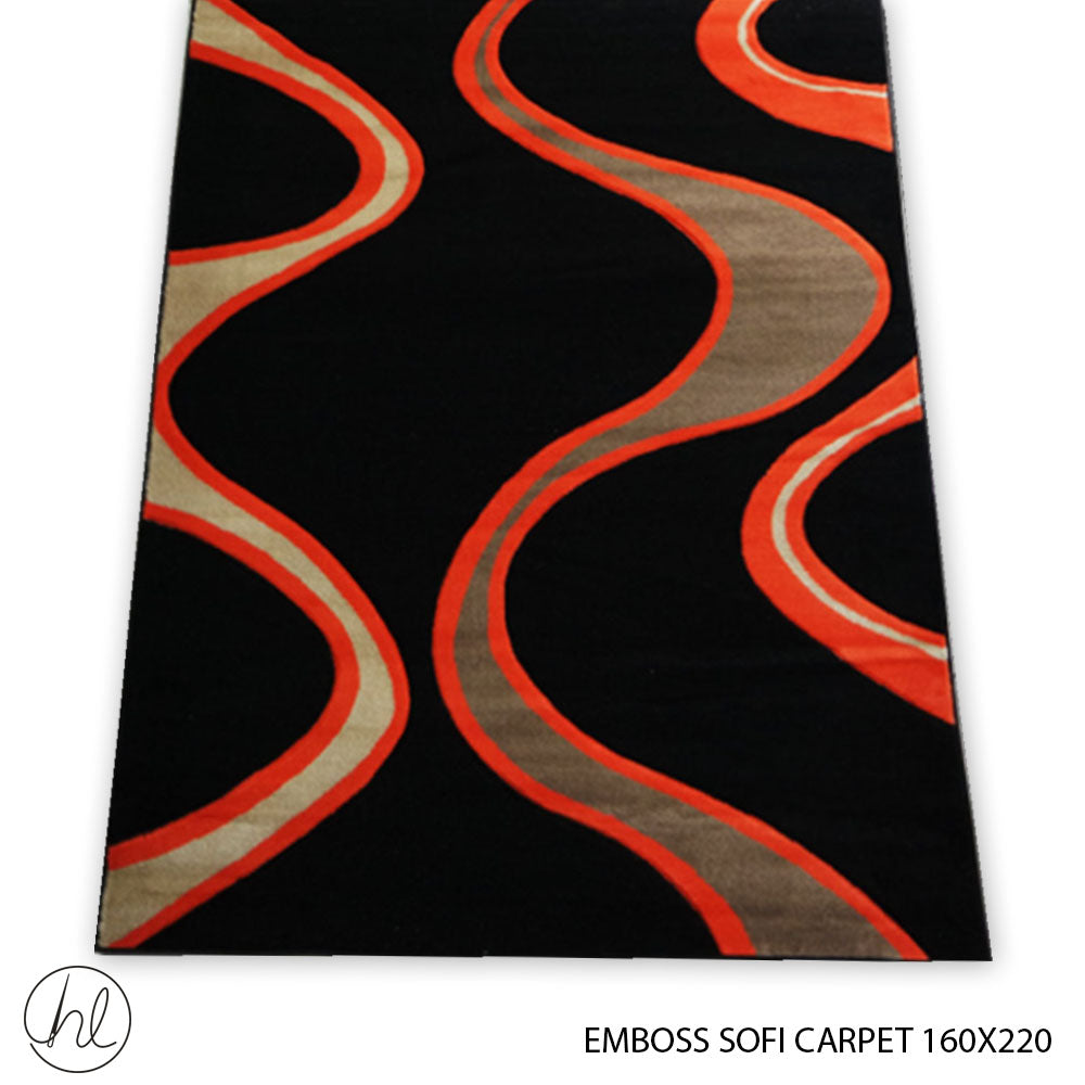 CARPET EMBOSS SOFI (160X220) (DESIGN 07)