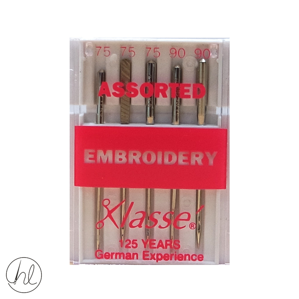 KLASSE EMBROIDERY NEEDLES (SIZE - ASSORTED)