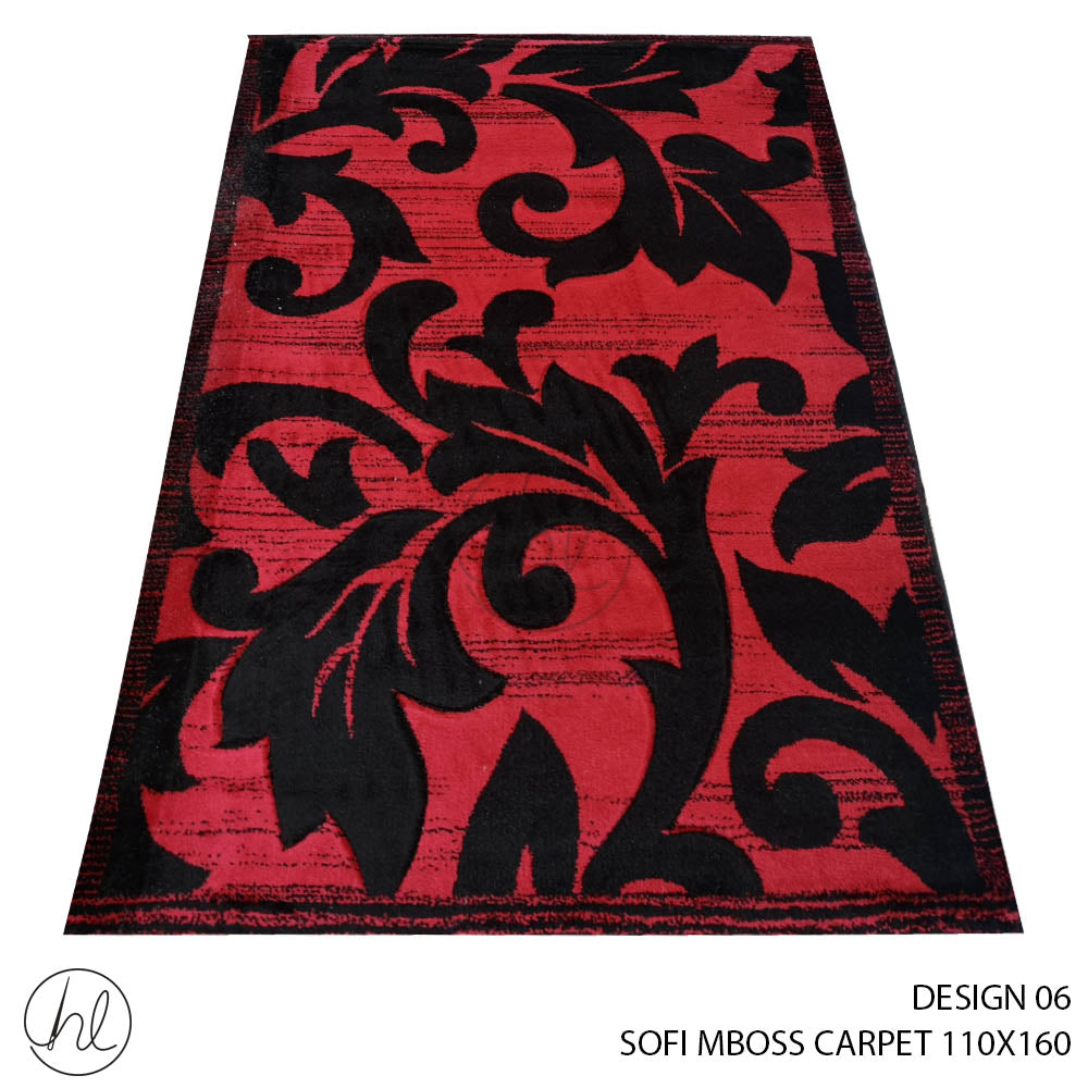 MBOSS SOFI CARPET (110X160) (DESIGN 06)