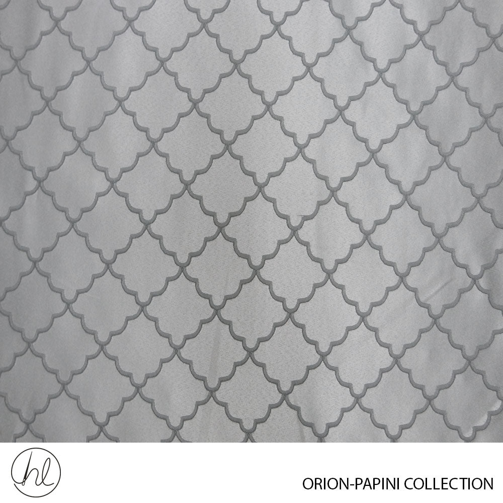 CURTAIN ORION (DESIGN 01) (280CM) (PER M) (SILVER)