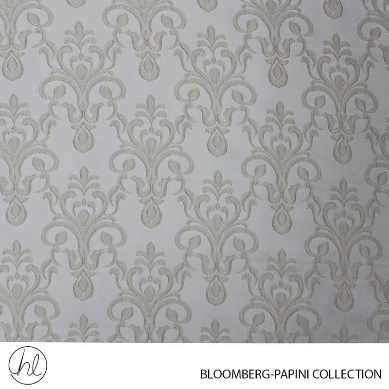 CURTAIN BLOOMBERG (DESIGN 01) (280CM) (PER M) (WHITE/CREAM)