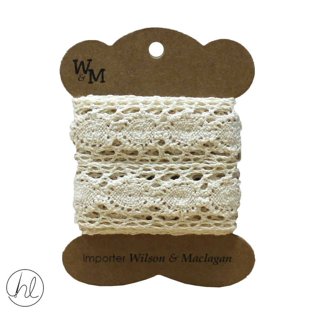 28MM TORCHON LACE WITH INSERT (CB1351)