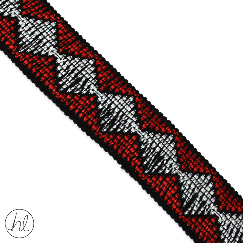 STRETCH BRAIDING (P/METRE)