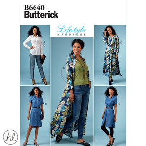 BUTTERICK PATTERNS (B6640)