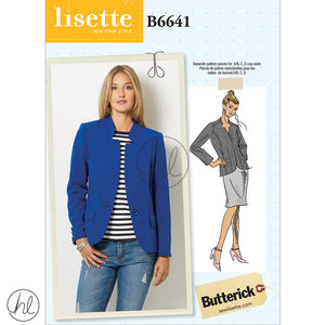BUTTERICK PATTERNS (B6641)