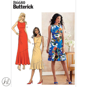 BUTTERICK PATTERNS (B6680)