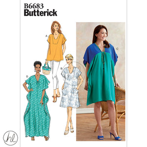 BUTTERICK PATTERNS (B6683)