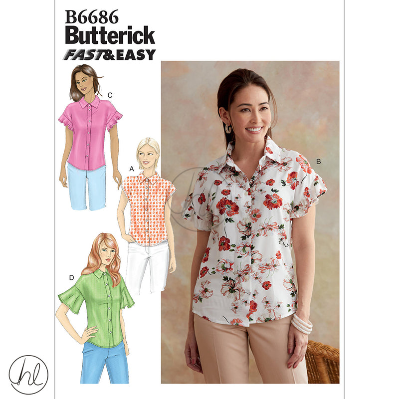 BUTTERICK PATTERNS (B6686)