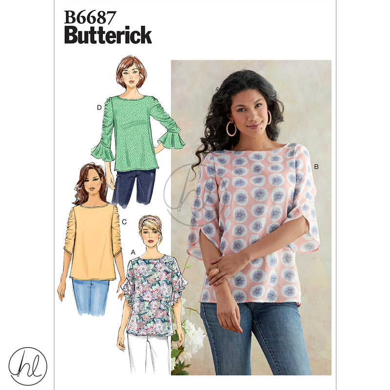 BUTTERICK PATTERNS (B6687)