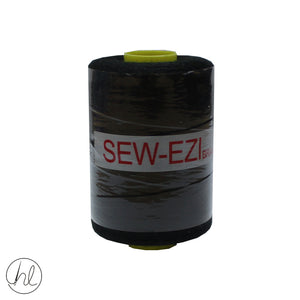 1000M SEW EZI COTTON (P/REEL) (BLACK) (TAKE ANY 10 FOR R49.99)
