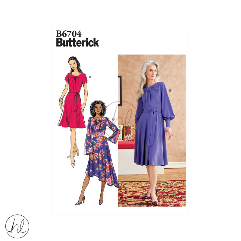 BUTTRICK PATTERN 6704