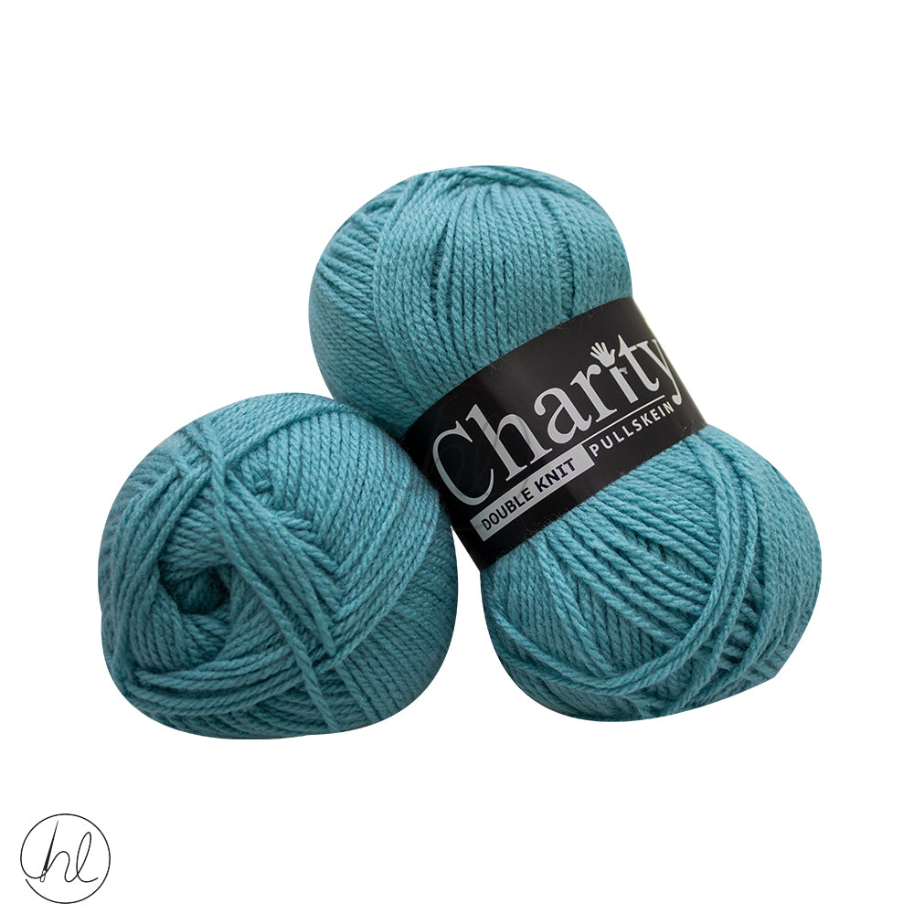 CHARITY PULLSKEIN DOUBLE KNIT 100G DUCK EGG