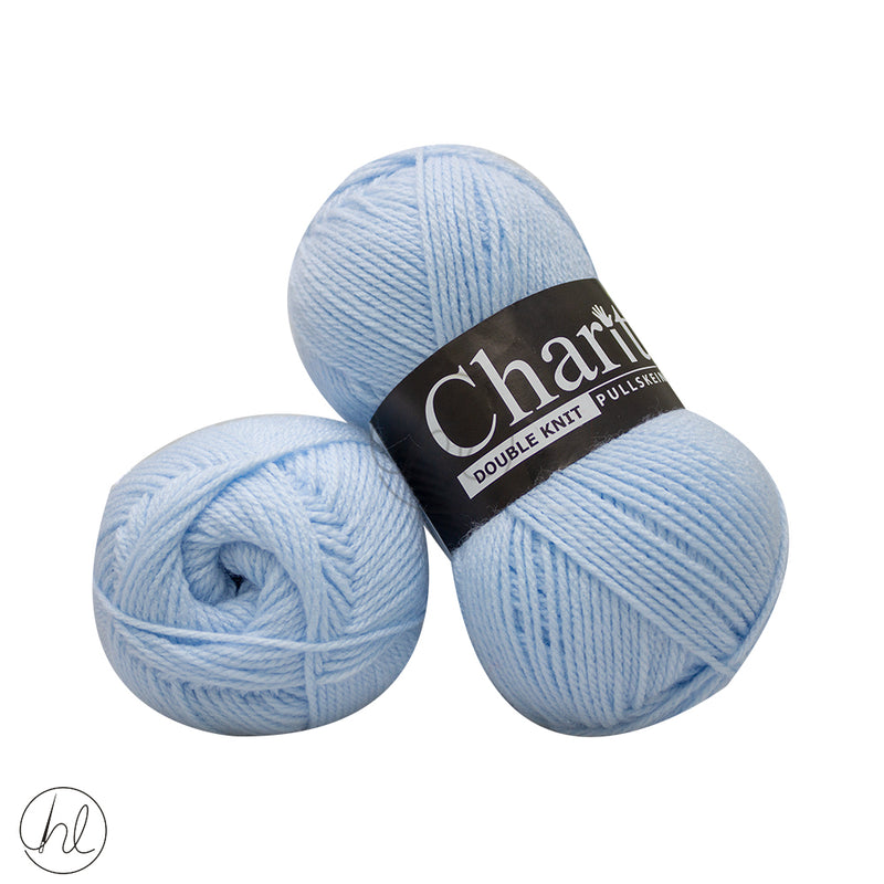 CHARITY PULLSKEIN DOUBLE KNIT 100G POWDER BLUE